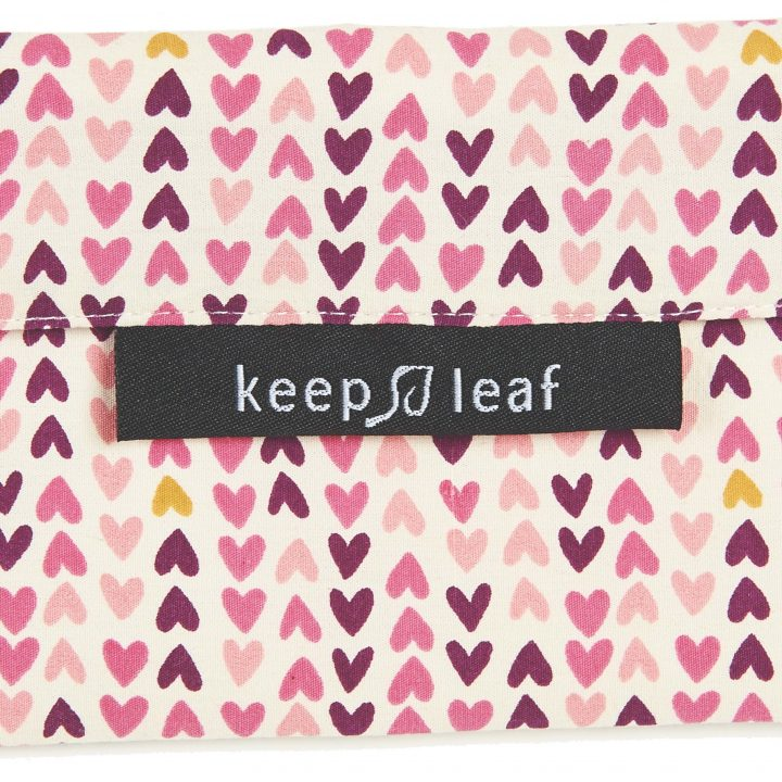 Keep Leaf – Reusable Baggie (Medium) – Hearts
