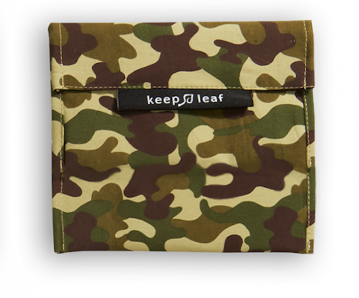 Keep Leaf – Reusable Baggie (Medium) – Camo