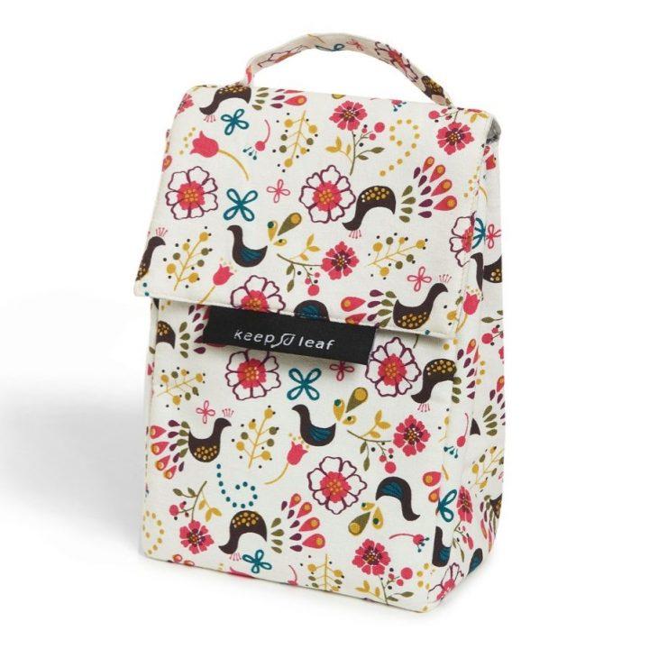 Organic Cotton Lunch Bag – Birds