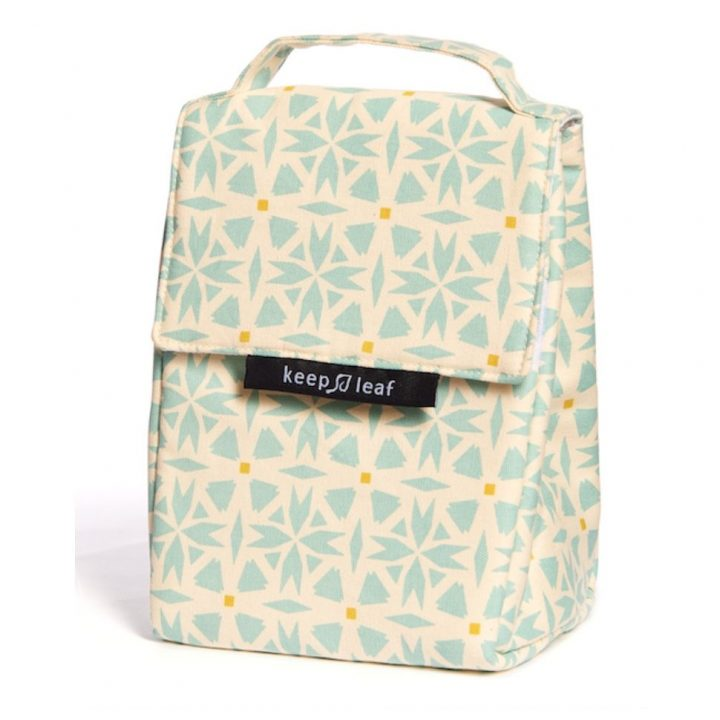 Organic Cotton Lunch Bag – Geo