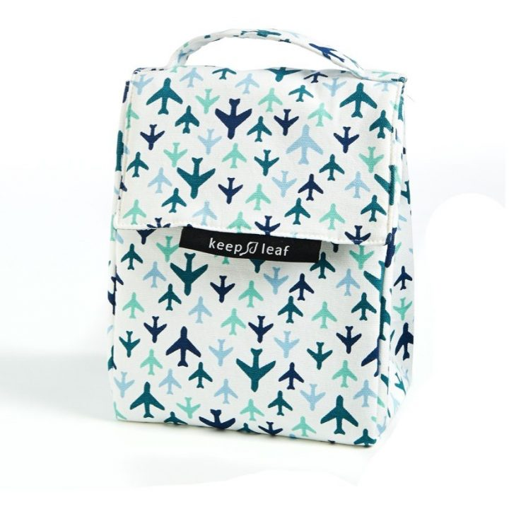 Organic Cotton Lunch Bag – Planes