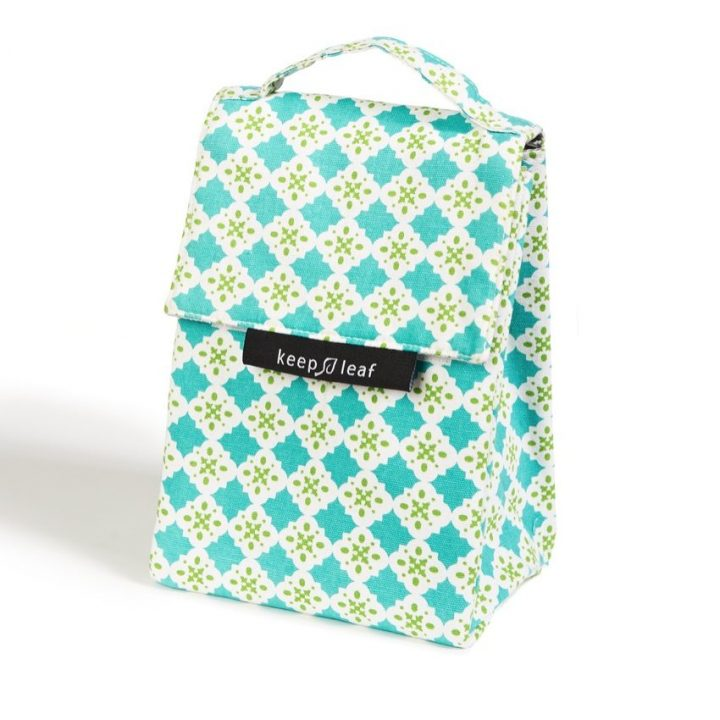 Organic Cotton Lunch Bag – Tiles