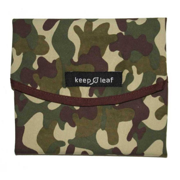 Reusable Cotton Sandwich Wrap – Camo