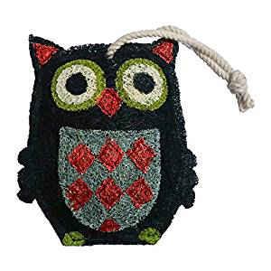 Black Owl Loofah