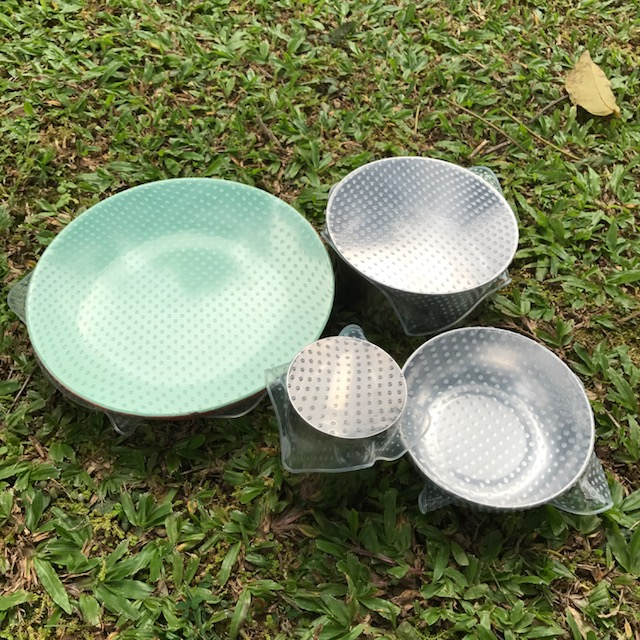 Silicone Bowl Covers – Set of 4