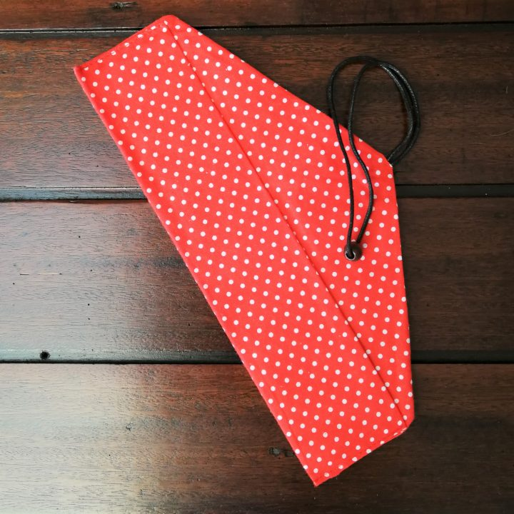 Cotton Wrap Pouch