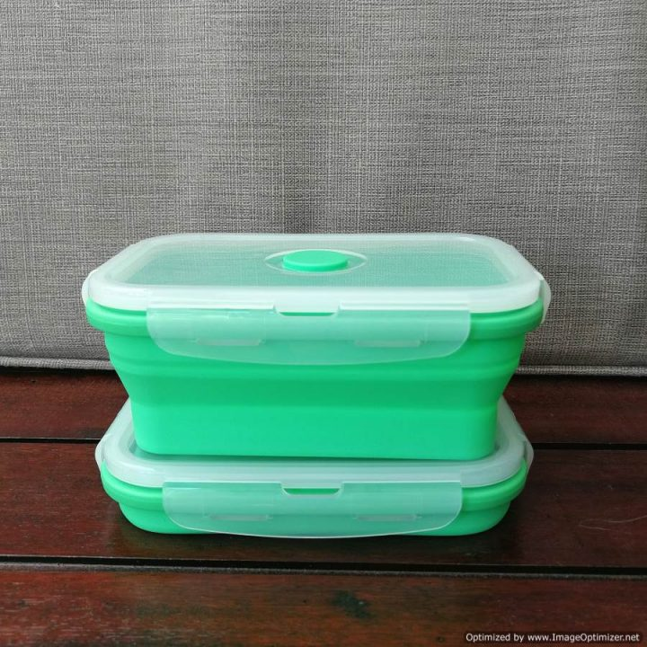 Collapsible Silicone Food Container – Medium