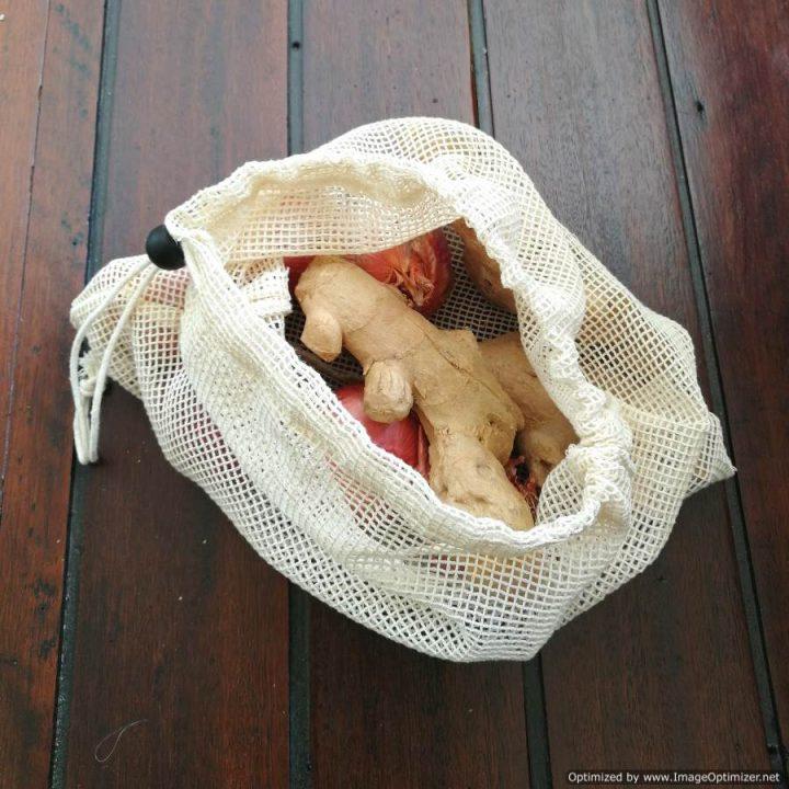 Cotton Mesh Produce Bag – Small