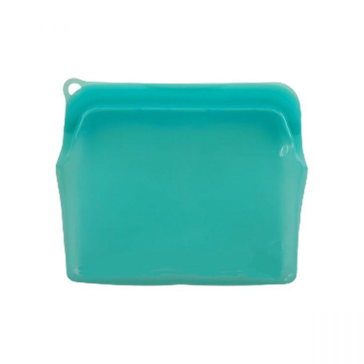 Reusable Silicone Food Bag 470ml Green