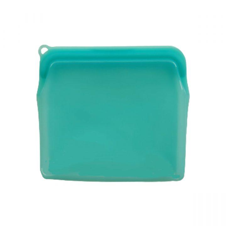 Reusable Silicone Food Bag 900ml Green