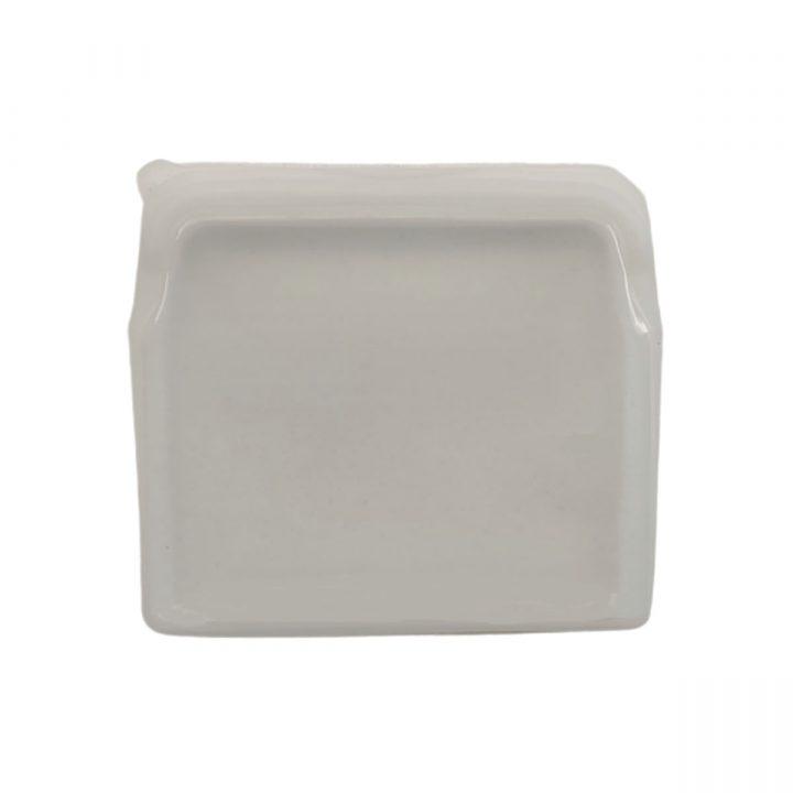 Reusable Silicone Food Bag 900ml White